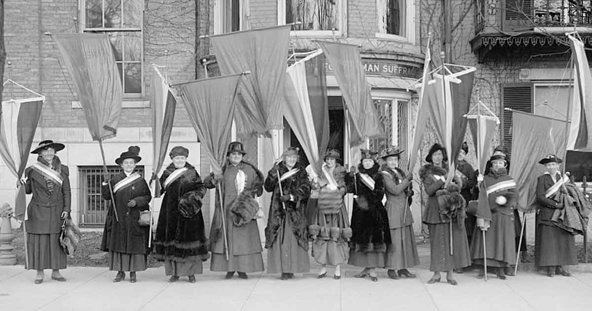 Celebrating 100 Years of Women's Suffrage
