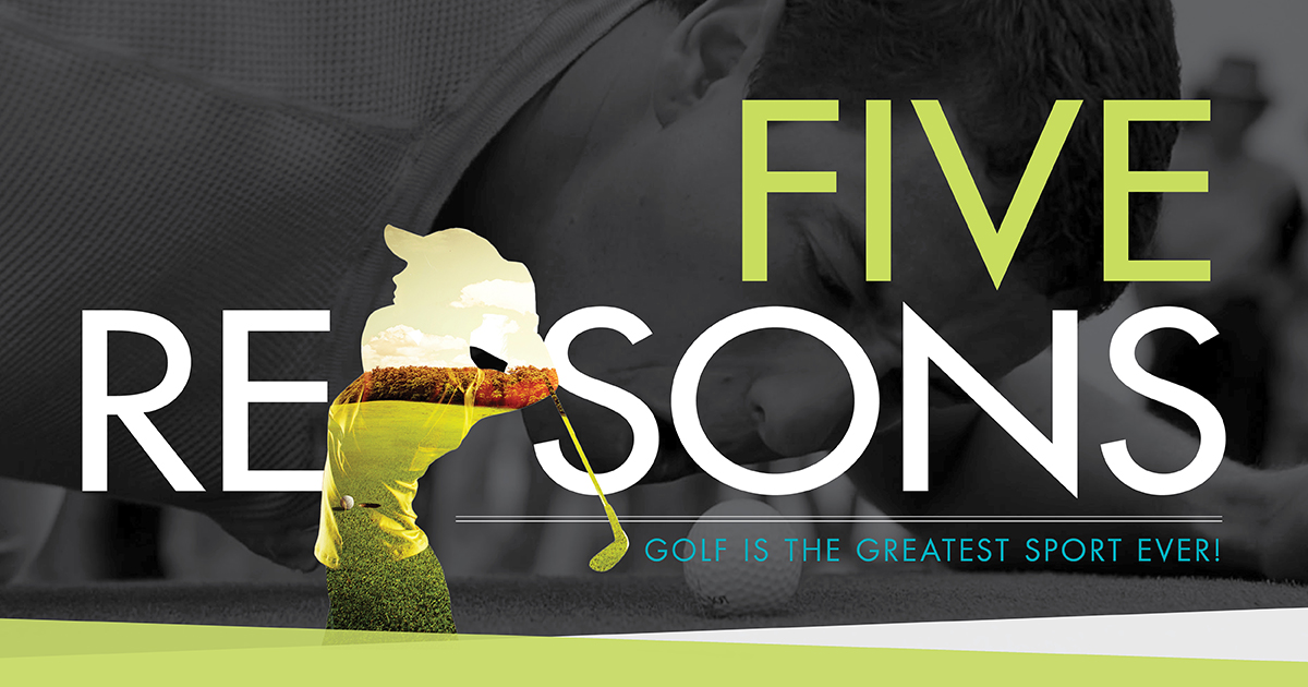 5ReasonsGolf enews