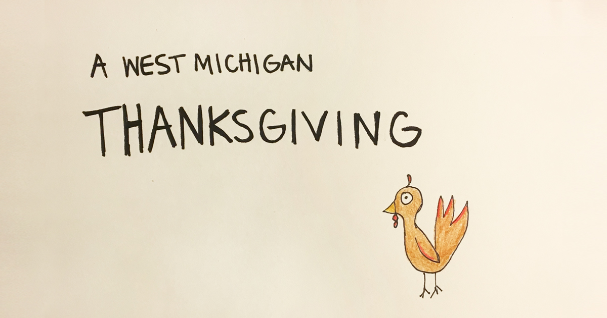 a west michigan thanksgiving enews