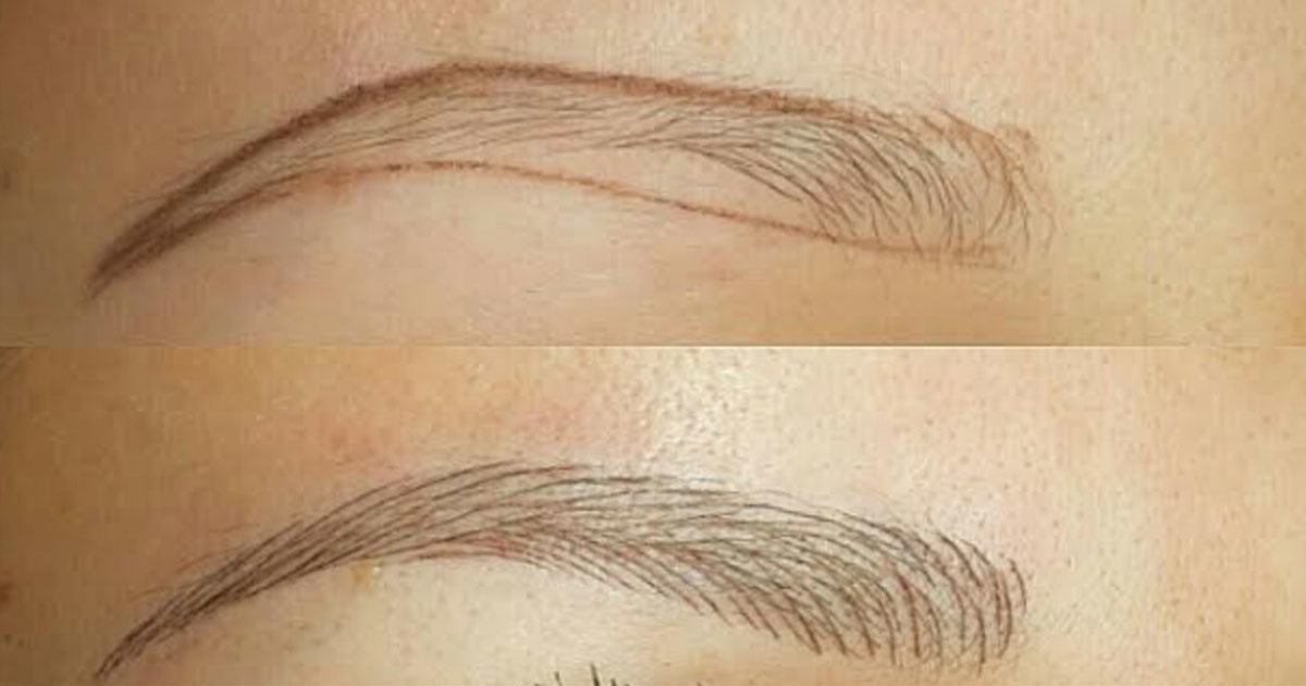Tired Of Drawing On Eyebrows