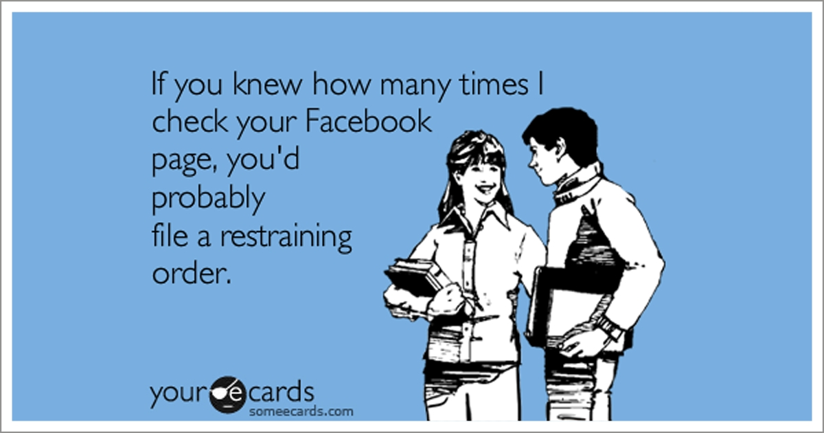 """Facebook """"Creeping"""": Completely Harmless, Right?"""