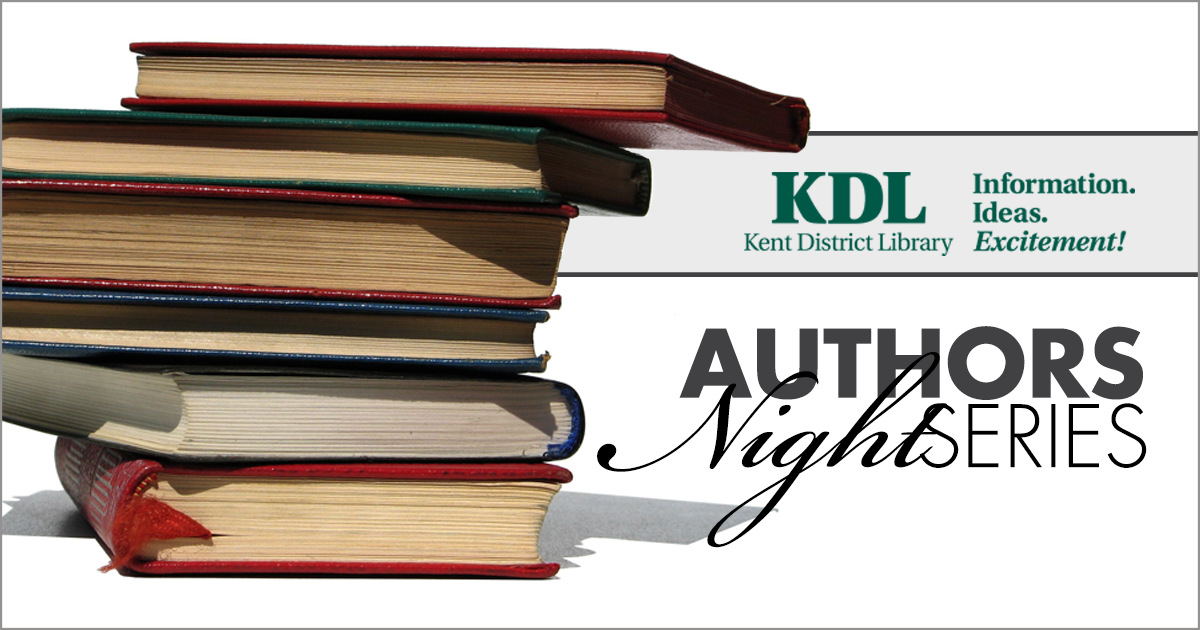 Kent District Library Kicks Off Authors Night Series
